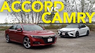 Download 2018 Honda Accord vs Toyota Camry Comparison Video