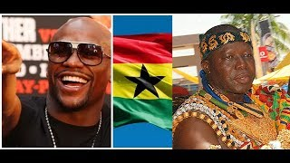Download FLOYD MAYWEATHER TOUR TO GHANA , MANHYIA PALACE IN KUMASI- CONFIRM Video