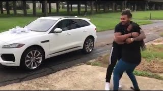 Download Athletes Surprising Family/Fans With Homes and Cars Compilation! Video