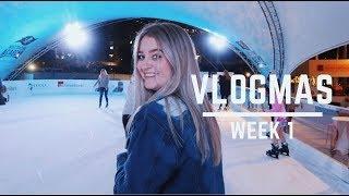 Download VLOGMAS WEEK 1: piercing my nose, gaining weight + ice skating!!! Video