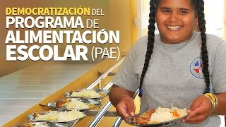 Download Democratización del programa de alimentación escolar Video