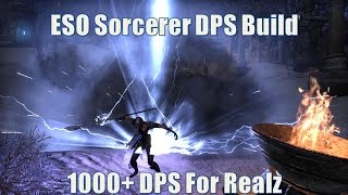 Download Elder Scrolls Online 1000+ DPS Sorc Build Turbulence Video