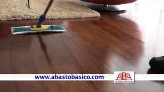 Download MOPAS DE MICROFIBRA PARA TRATAMIENTO DE PISOS Video