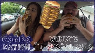 Download We Try Wendy's Secret T-Rex Burger | COMBOnation Video