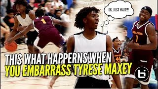 Download DEFENDER RIPS TYRESE MAXEY WATCH WHAT HAPPENS NEXT! Ballislife Highlights Video