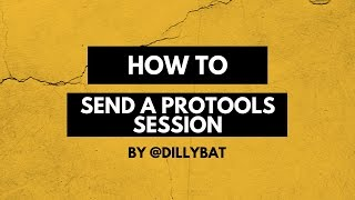 Download How To Send A Protools Session Video