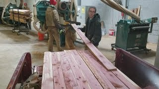 Download CNC and Manual Machining, Resawing Lumber and Nickel Iron Battery Work Video