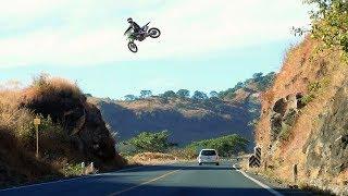 Download INSANE MX HIGHWAY JUMPS 😲 #SEND IT Video
