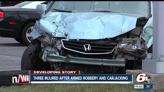 Download Three injured in armed robbery, carjacking in Greenwood Video
