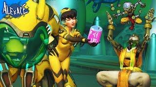 Download BOYFRIEND VS GIRLFRIEND SPRAY AND SEEK! l OVERWATCH CUSTOM GAMEMODE! Video