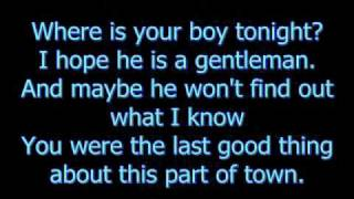 Download Fall Out Boy - Where is your boy tonight? (With lyrics) Video