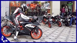 Download KTM RC200 stock Exhaust Sound and Short test drive (Full HD video) | RWR Video