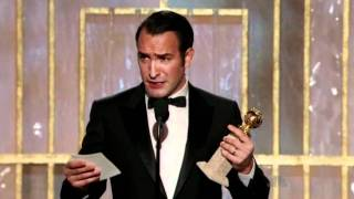 Download Jean Dujardin wins Golden Globe for The Artist Video