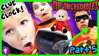 Download MYSTERY CLOCK with SECRET NOTE! HobbyPig Disappears in THE INCREDIBLES PART 5 Adventure Video