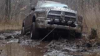 Download Mud Bogging 2013 Dodge Ram 2500 Power Wagon Michigan Mudding Preview Video