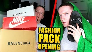 Download 4700€ FASHION PACK OPENING (Balenciaga, Givenchy..) Video