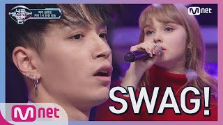 Download [ENG sub] I can see your voice 6 [3회] SWAG 듀엣! 한인 노래 자랑 1등 x AOMG '주지마' 190201 EP.3 Video