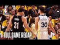 Download TRAIL BLAZERS vs WARRIORS | Steph Gets Hot From Deep | Game 1 Video