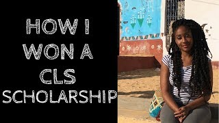 Download How I Won A CLS Scholarship - Critical Language Scholarship Program \\ My Tips! Video