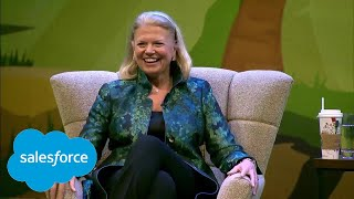 Download The Future of Work with Ginni Rometty and Marc Benioff Video
