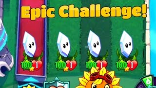 Download Plants vs Zombies Heroes Epic Magnifying Grass Challenge in PvZ Heroes Video