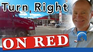 Download How to Turn Right At An Intersection On A Red Light Video