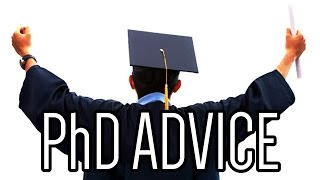 Download Advice to PhD applicants Video
