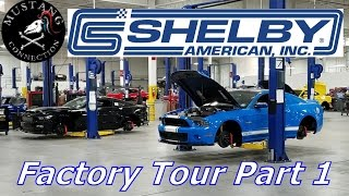 Download Shelby Factory tour behind the scenes! Shelby GT500 SuperSnake Shelby GTE Mustang Connection Video