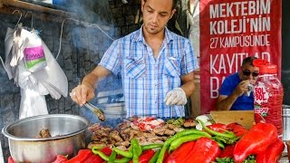 Download Istanbul Street Food - DELICIOUS Turkish Kofte and Breakfast on Turkish Airlines! Video