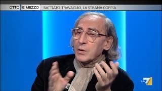 Download Otto e mezzo - Battiato-Travaglio, la strana coppia (Puntata 12/11/2015) Video