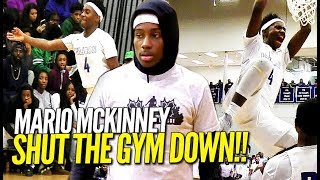 Download Hoodie Mario Hits a MEAN Putback Dunk & SHUTS THE GYM DOWN in Front of Sold Out Crowd!! Video