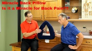 Download Miracle Back Pillow: Is it a Miracle for Back Pain? We do the Review. Video