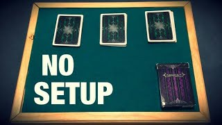 Download The IMPOSSIBLE No Setup Card Trick REVEALED Video