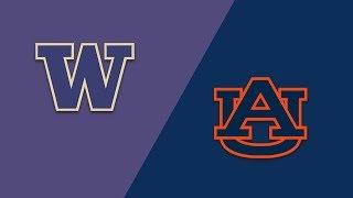 Download Week 1 2018 #6 Washington vs #9 Auburn Highlights Sep 2 2018 Video