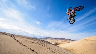 Download A Freeride Motocross Paradise in the Dunes of Death Valley Video
