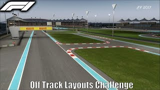 Download F1 2017 Off Track layouts Challenge Video