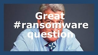 Download Great question on ransomware answered Video