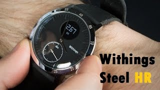 Download Withings Steel HR - Montre connectée avec 25 jours d'autonomie - Business & Sport Video