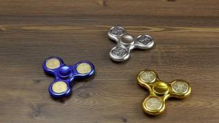 Download ОБЗОР: Комбинированный Спиннер Fidget Spinner серия ″Chrome″ (Пластик + Металл) Video