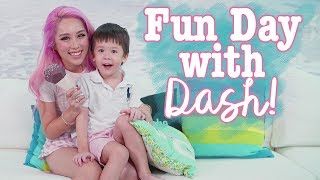 Download Vlog with Dash - Fun activities to do with your toddler at home! Video
