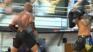 Download Anderson 'The spider' Silva - KO Sparring partner - Sparring session Video