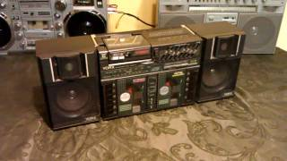 Download Yorx BP1000 triple cassette 1980's Boombox Video