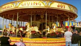 Download Carousel FunFair Rides, Merry Go Round and Swing Rides. Video