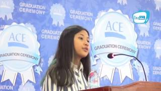 Download Speech by Tram Chan Metrey, ACE Diploma Student Video