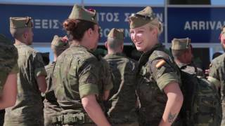 Download NOBLE JUMP 17 - Spanish troops arrive in Greece Video