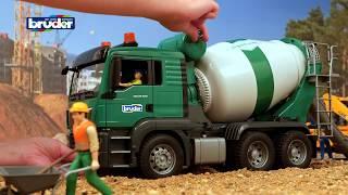 Download MAN TGS Betonmisch LKW - 03710 - Bruder Spielwaren Video