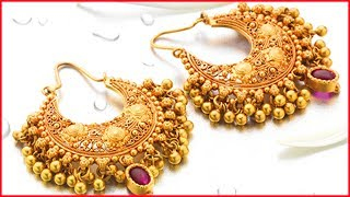 Download Gold Earring Designs With Weight And Price Video