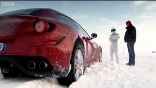 Download Ferrari FF Vs. Bentley Continental V8 on Ice! | Top Gear | Series 18 | BBC Video