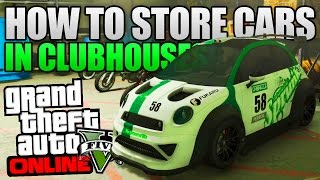 Download GTA 5 Online - HOW TO STORE ANY CAR IN YOUR MC CLUBHOUSE! (GTA 5 Glitches & Tricks) Video