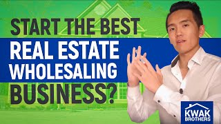 Download How to Start the BEST Real Estate Wholesaling Business? Video